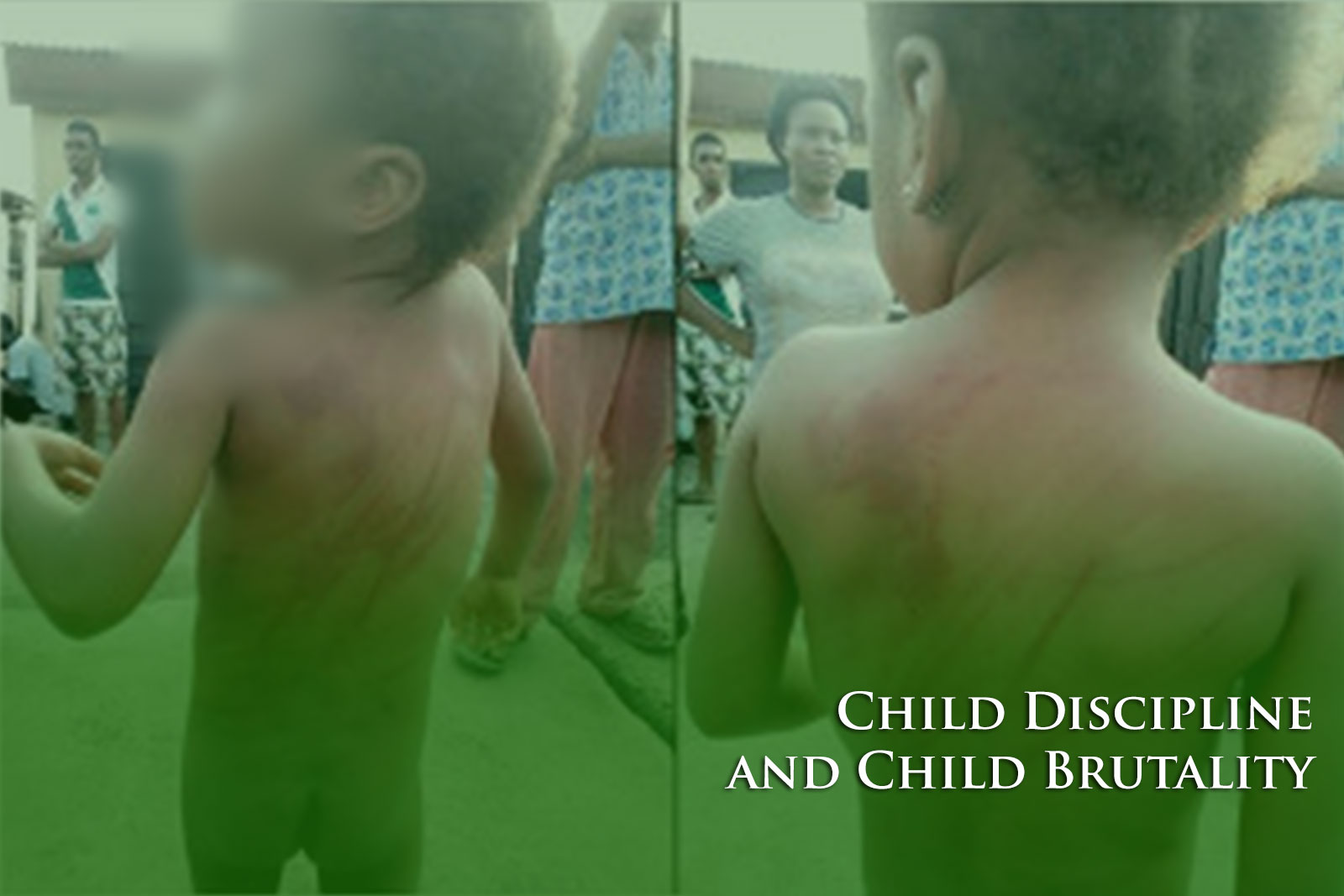child discipline and child brutality