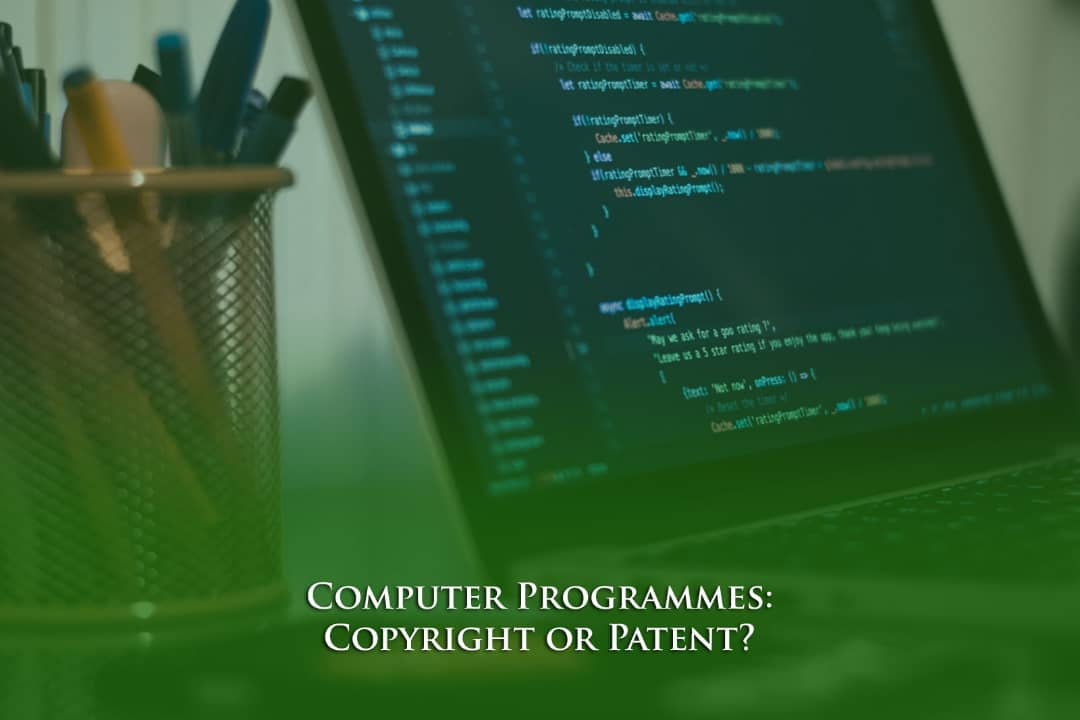 Computer programs patent or copyright