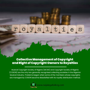 Collective Management of Copyright and Right of Copyright Owners to Royalties