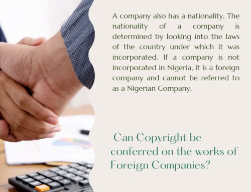 Can Copyright be Conferred on the Works of Foreign Companies?