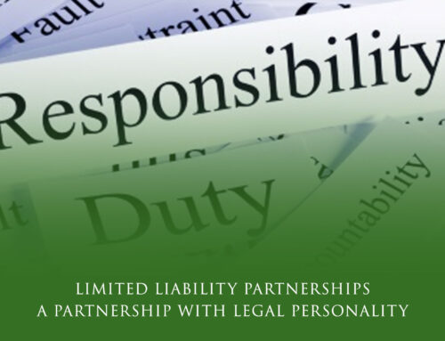 Limited Liability Partnerships: A Partnership with Legal Personality
