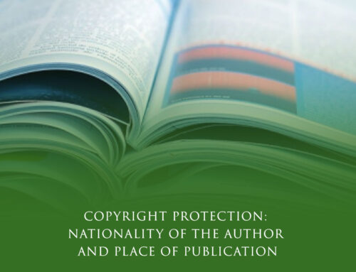 Copyright Protection: Nationality of the Author and Place of Publication