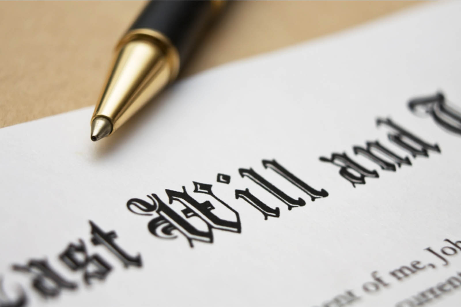 4 REASONS TO MAKE A WILL BEFORE DEATH