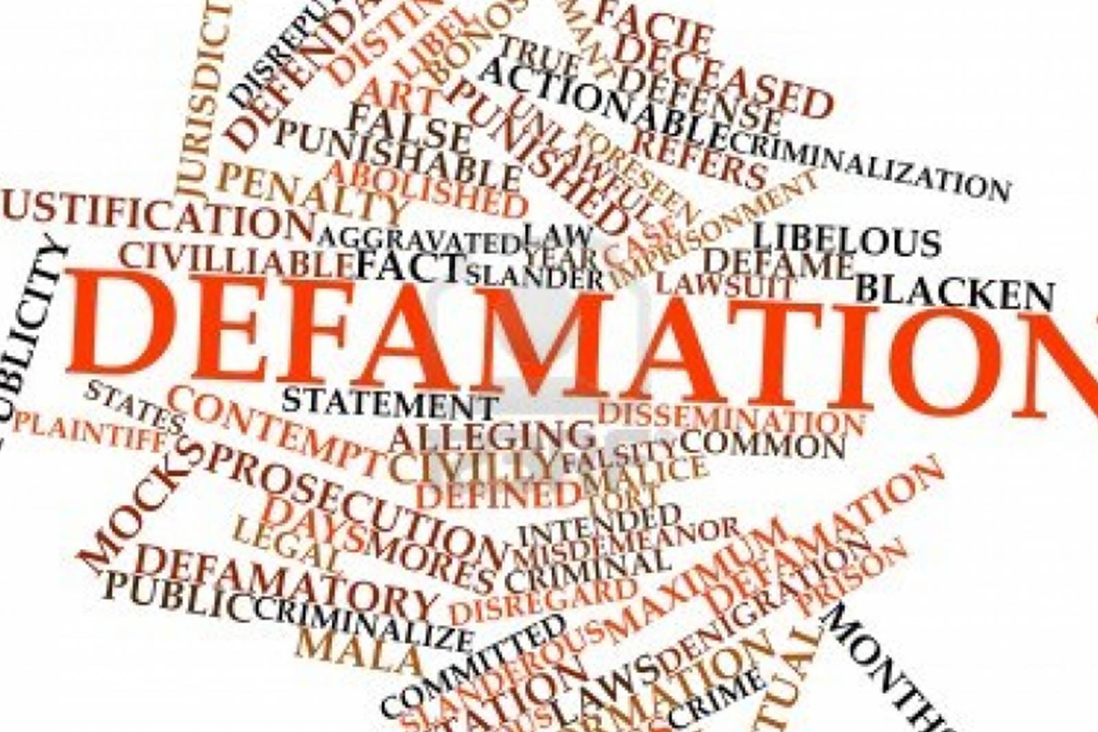 DEFAMATION AND THE CRIMINAL LAW