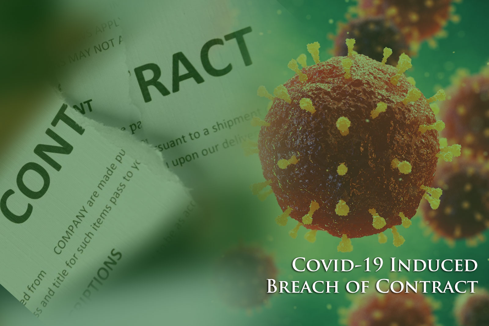 Covid-19 Induced Breach of Contract