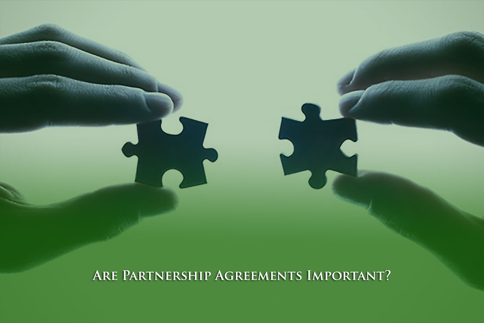 Are Partnership Agreements Important?