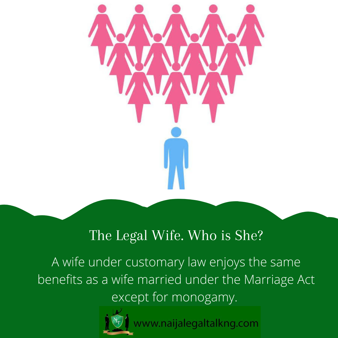 The Legal Wife. Who is She?